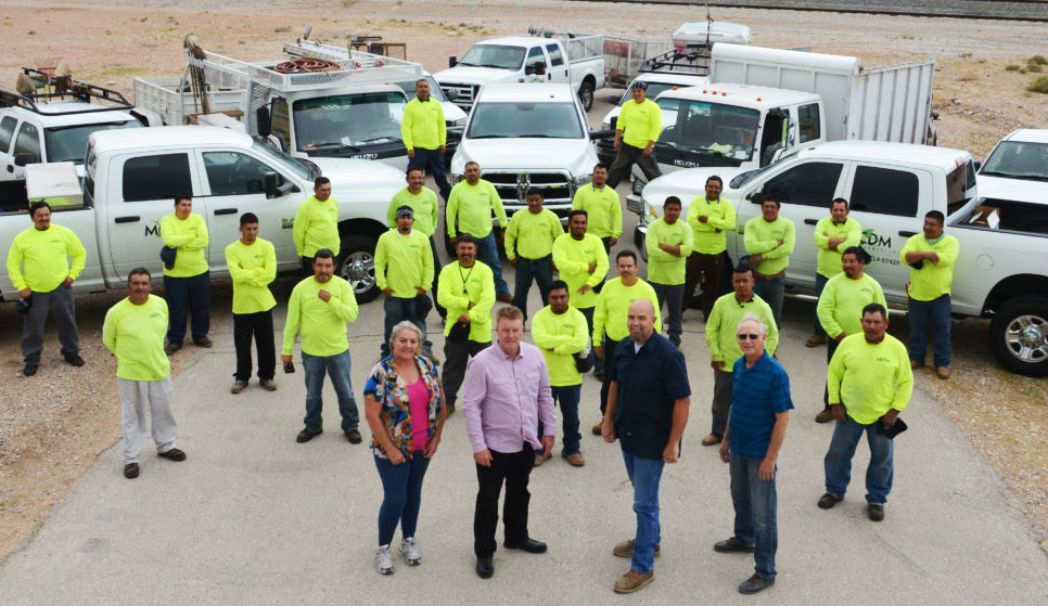 MCDM Landscape Owner and Employees - Las Vegas