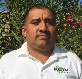 Jose Vigil Photo - MCDM Landscape Maintenance Supervisor